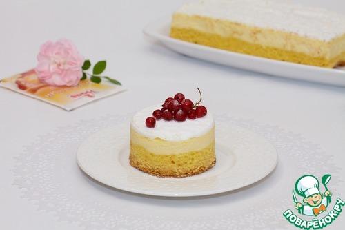 Десерт по мотивам краковского сырника