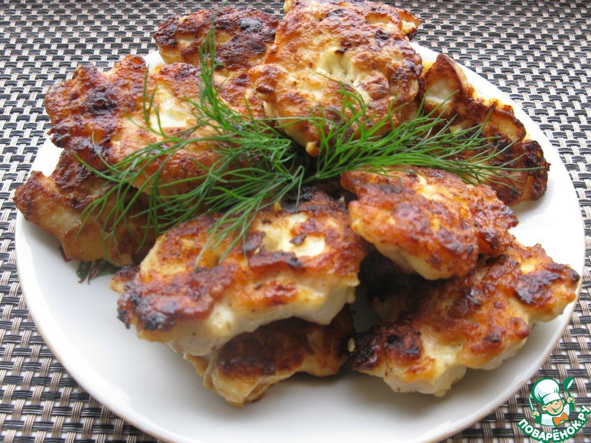 Как приготовить куриные котлеты с плавленным сыром рецепт