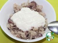 Рисовый салат с запеченной корюшкой ингредиенты