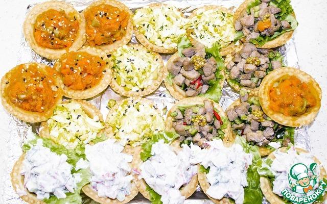 Вкусные и быстрые рецепты салатов и закусок