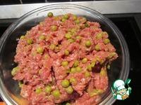 Утка фаршированная зелёным горошком ингредиенты