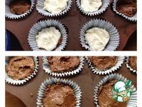 Шоколадные кексы с творожным центром ингредиенты