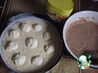 Шоколадно-сливочный кекс с творожными шариками ингредиенты