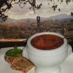 Полбовый суп из города Лукка