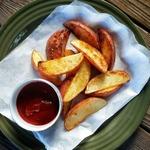 Жареный картофель за 10 минут