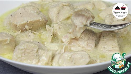 Гуляш куриный с подливкой рецепт пошагово