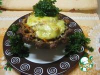 Гречка с грибами в мясной корзинке ингредиенты