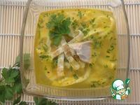 """Суп куриный с """"блинчиками"""" ингредиенты"""