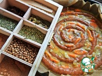 Пирог-запеканка с купатами ингредиенты