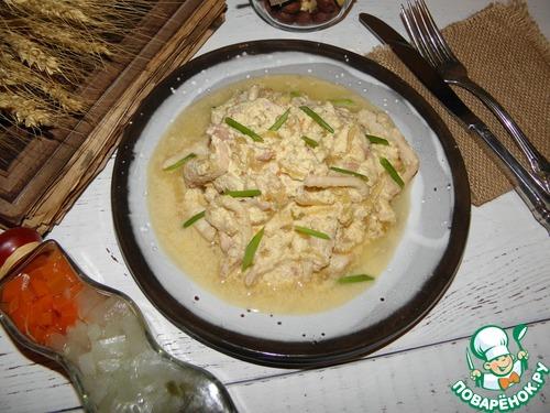 Тушеные кальмары в сметане рецепт пошагово