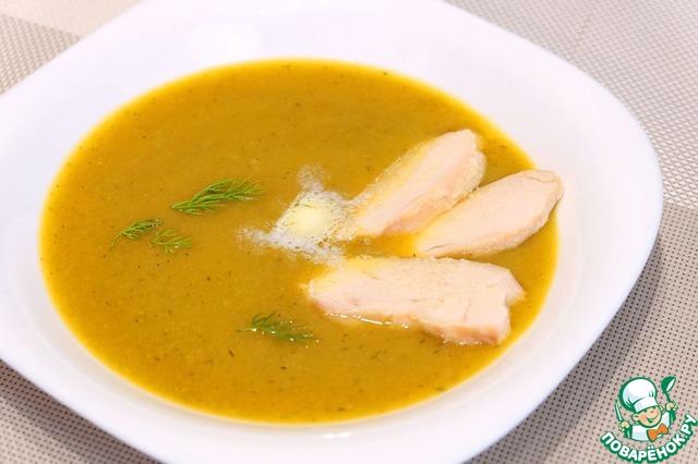Суп пюре из овощей рецепт с фото