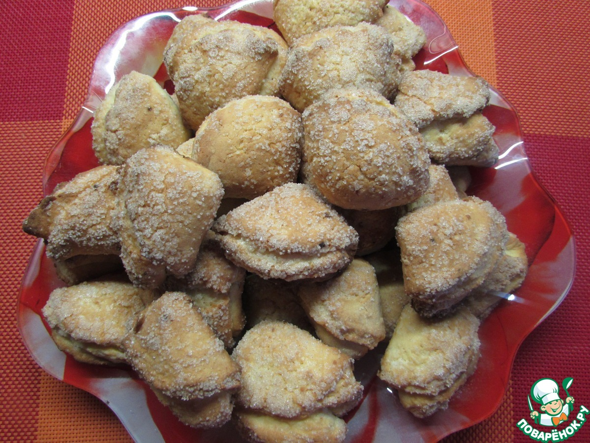 Рецепты творожного печенья эчпочмак