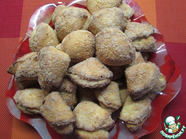 Печенье на сметане и твороге рецепт пошагово в