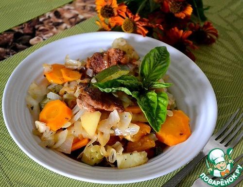 Овощное рагу в кастрюле рецепт 103