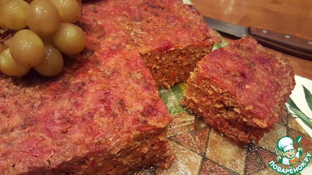 Мясо с виноградом рецепт