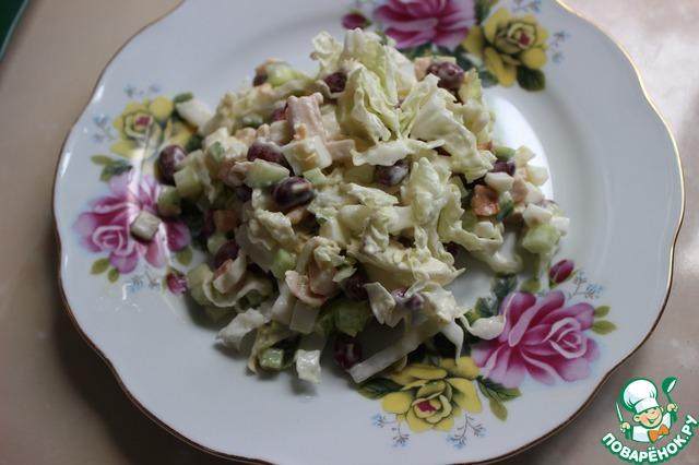 Необыкновенный салат с курицей