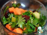 Заготовка овощная для бульона ингредиенты