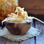 Маринованная капуста с соевым соусом