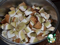 Грибы белые маринованные ингредиенты