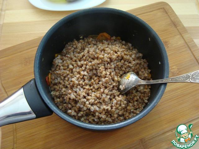 Каша гречневая с овощами рецепт пошагово