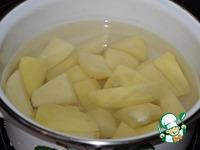 Котлеты из скумбрии с картофельным пюре ингредиенты
