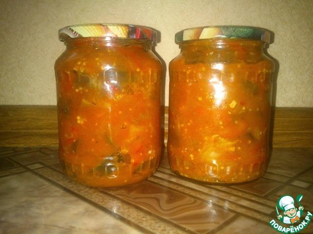 Рецепты закруток салатов з фото