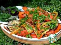 Теплый салат к шашлыку ингредиенты