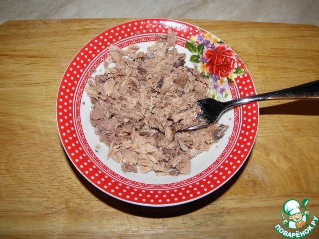 Как сделать омлет с тунцом