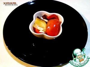 Маринованные перцы с баклажаном на зиму