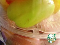 Перец фаршированный «Не такой» ингредиенты