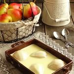 Груши в сливочно-ванильном соусе