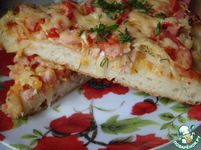 Вкусное тонкое тесто для пиццы рецепт без дрожжей пошагово 62