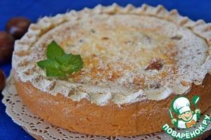 Сливовый пирог со сметанной заливкой