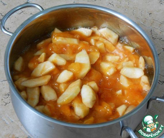 Как сварить компот из свежих яблок  пошаговый рецепт с фото