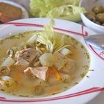 """Рыбный суп с сельдереем """"Летняя веранда"""""""