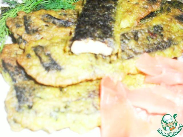 Рыба в постном кляре пошаговый рецепт с