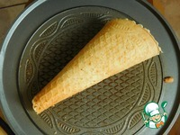 Вафельные рожки для мороженого ингредиенты