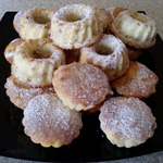 Ореховые сырники с яблоками в духовке
