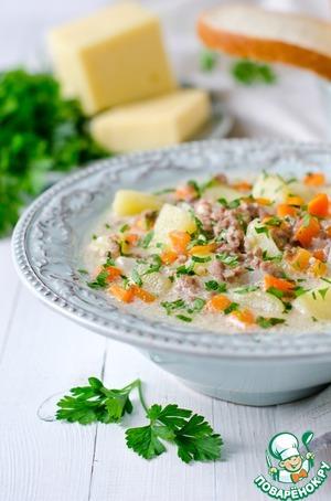 тирольский суп рецепт с мясным фаршем