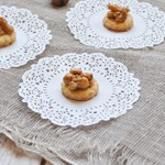 Печенье с орехами в карамели