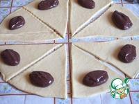 Творожные рогалики с шоколадно-заварным кремом ингредиенты