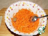 """Морковь по-корейски """"Мгновенная"""" ингредиенты"""