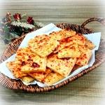 Закусочное творожно-сырное печенье