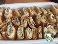 Запеченные блины со шпинатом ингредиенты