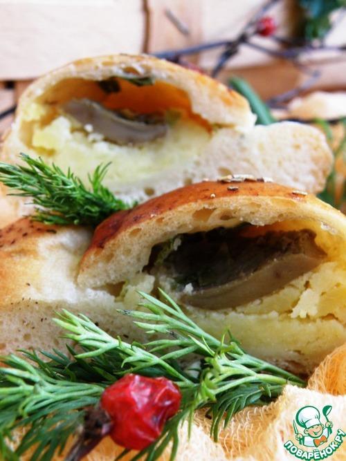 Пирожки с солеными груздями рецепт