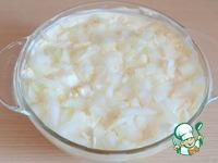 """Салат """"Пасхальный"""" с печенью и орехами ингредиенты"""