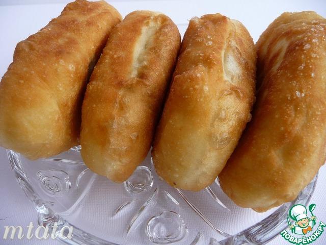 Пирожки жареные рецепт поваренок
