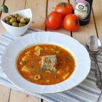 Минтай с сицилийским соусом