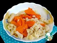 Постные овощные оладьи ингредиенты