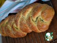 Дрожжевой пирог-косичка ингредиенты